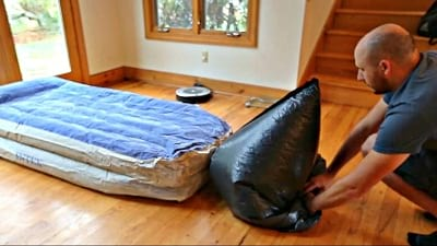 How To Inflate A Mattress With A Vacuum