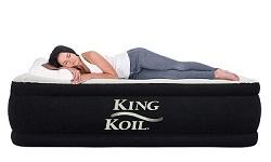 king koil air mattress reviews: best air mattress for camping