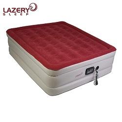 lazery sleep air mattress review: best air mattress with built in pump
