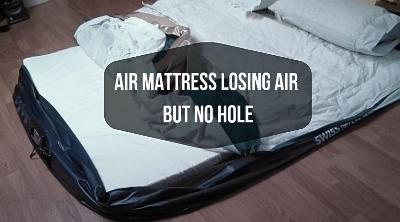 Air-mattress-losing-air