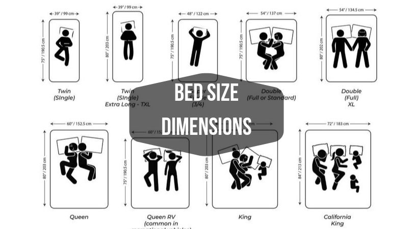 Bed Size Dimensions The Ultimate Guide to Your Bed Size