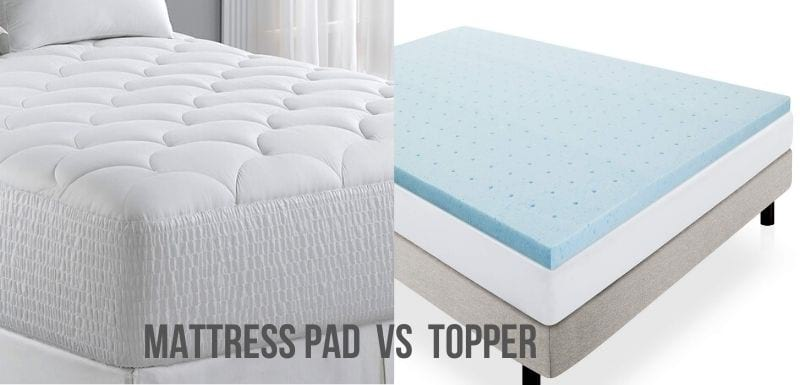 Mattress Pad VS Topper