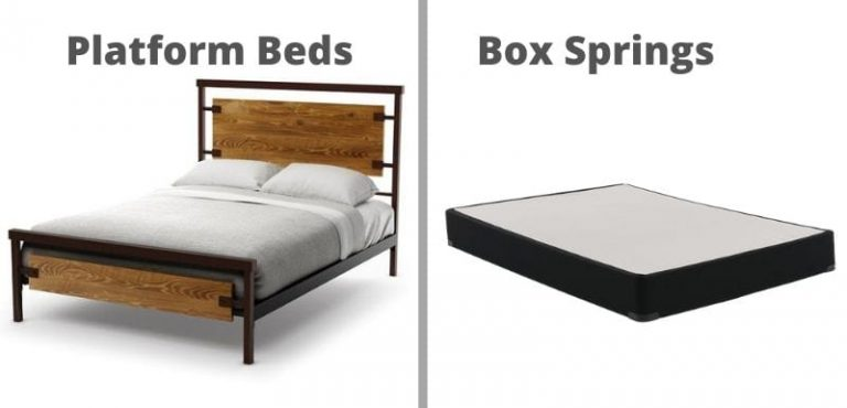 Platform Beds vs Box Springs